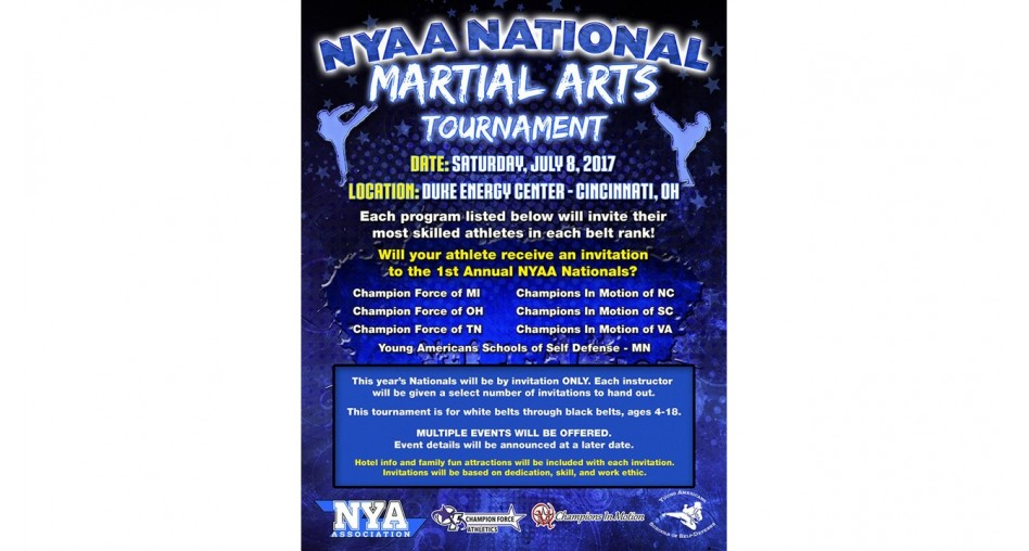 National Youth Activities Association Martial Arts Tournament