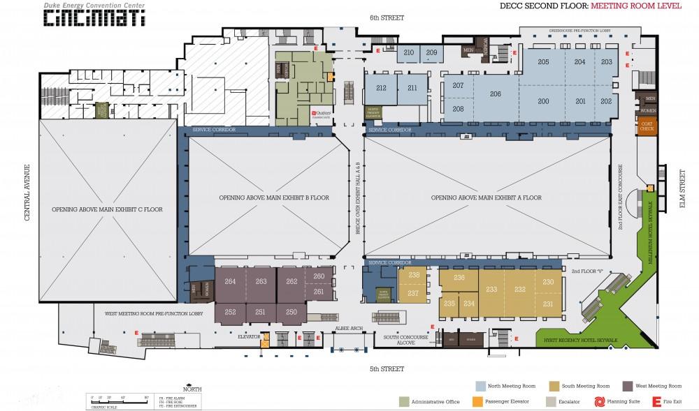 Colorado Convention Center Floor Plan