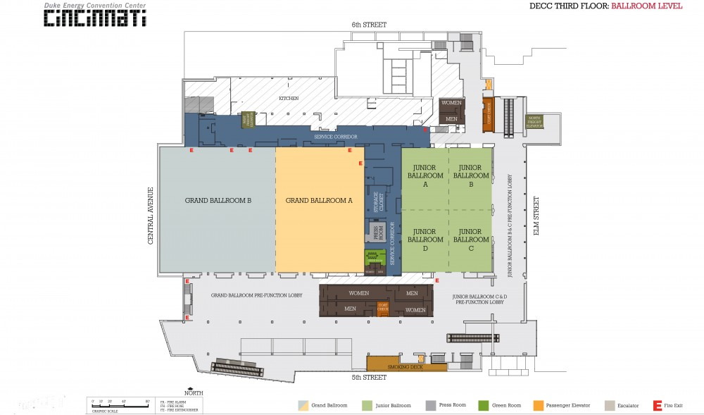 Floor Plans Plan Your Event Duke Energy Convention Center
