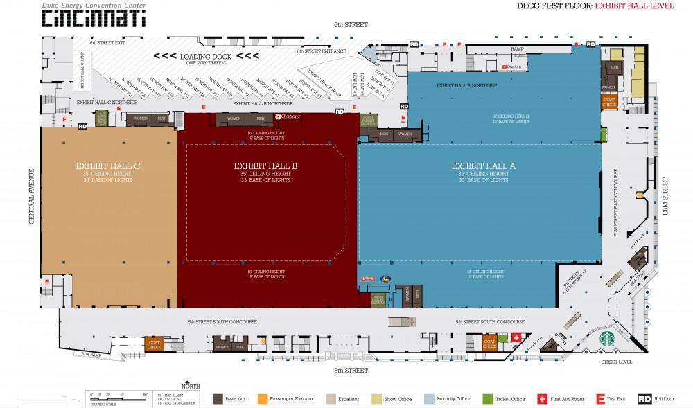 Floor Plans Plan Your Event The Duke Energy Center